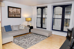 FULLY FURNISHED / ENTIEREMENT MEUBLE