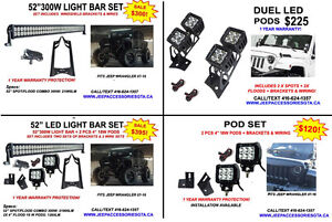 JEEP WRANGLER ACCESSORIES/PARTS & LED LIGHTS London Ontario image 6