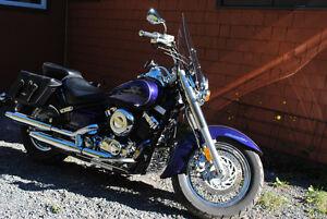 Moto Yamaha V Star Classique 650