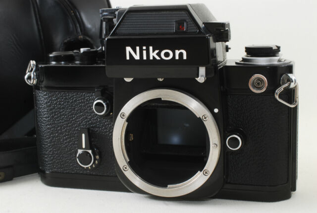 RARE! *EXC+++*  Nikon F2 Photomic SB Black DP-3 w/CH-4 Case From JAPAN #633