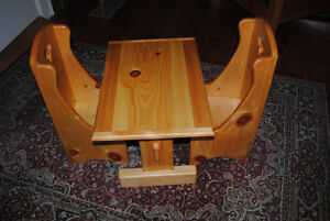 Wooden Child's Table and Chair Set Peterborough Peterborough Area image 1