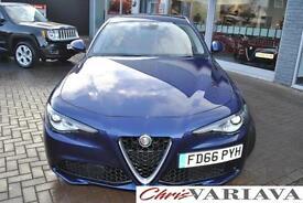 2016 Alfa Romeo Giulia 180 SUPER ** NEW GIULIA HIGH SPEC ** Diesel blue Automati
