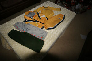 Baby Boy 3 Pce CCM Tracksuit/Matching Top & 2 Extra Trackpants