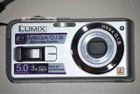 Panasonic LUMIX DMC-LS2 5.0 MP Digital Camera 3x Image Stabilize