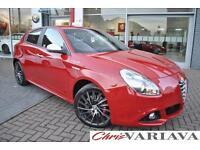 2015 Alfa Romeo Giulietta 2.0 JTDM-2 Sportiva Nav 5dr Diesel red Manual