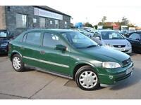 1999 (V) Vauxhall Astra 1.6 Petrol Manual 5 Door Hatchback Green