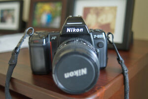 Nikkor F801S AF Film Camera Body w/AF 24-50mm Nikkor lens