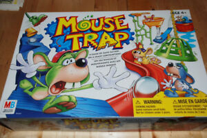 KIDS GAME - MOUSE TRAP - for age 6+, 2-4 PLAYERS