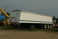 Your  Grain Trailer Log Trailer or Gravel Trailer can look linew