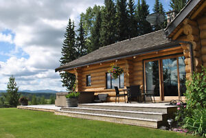 Majestic Cariboo Mountain Riverfront Ranch, 260 Acres, Horsefly