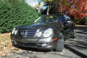 2007 Mercedes-Benz E 350 4Matic Sport package