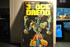 JUDGE DREDD#3 EAGLE COMICS