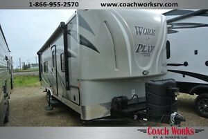 2016 Work & Play 25 WB Toy Hauler  Edmonton Edmonton Area image 1