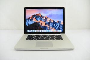 I7 Macbook pro 15 late 2011