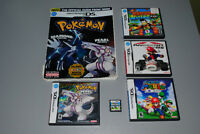 Nintendo DS NDS Games, Pokemon Pearl (with Guide), Mario, etc.