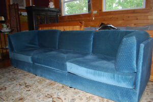 Extra Long 4 Seat Sofa with Matching Loveseat.