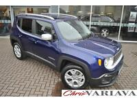 2016 Jeep Renegade 1.6 Multijet Limited 5dr ** LOW ROAD TAX + 50+ MPG ** Diesel