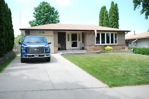 4 bedroom bungalow in good condition with separate entrance!
