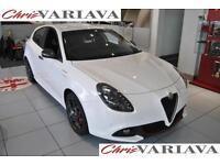 2016 Alfa Romeo Giulietta TBI VELOCE TCT Petrol white Semi Auto