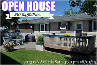 OPEN HOUSE TOMORROW $50 Raffle Prize! 5113 17a ave