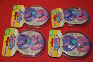 Pacifier - Nuby Orthodontic 8+1 pcs Sealed, New 5 x packs