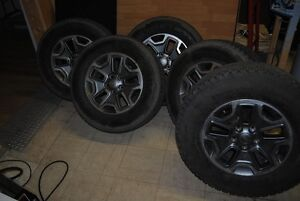 for sale jeep rubacon 17 in rubicon rims & tires $ 750.00