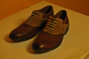 Worn once, Clarks Brown Dress Shoes