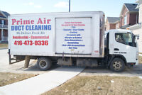 DUCT& CARPET CLEANING FROM $89 +CAMERA!!!!!416-473-0336