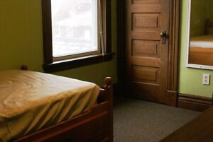 One 2nd-floor bedroom for rent immediately. All inclusive