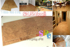 Come Over to the Green Side with Cork Flooring