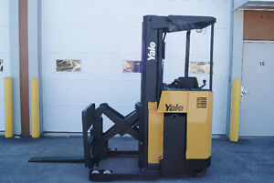 Forklift,reach,sideshift,electric, YALE  NR040