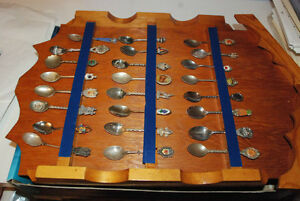 3 x Displays *** Antique wholesale **** Spoons Collection