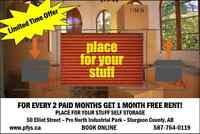 For Every 2 Paid Months, Get 1 Month FREE Rent!