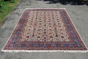 Perisan AREA rugs 11*16 HANDKNOTTED VINTAGE