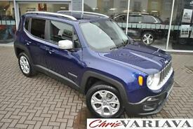 2016 Jeep Renegade LIMITED Petrol blue Automatic
