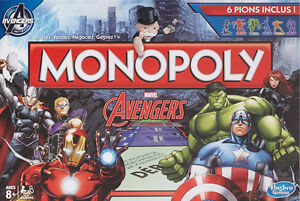 Monopoly edition special AVENGERS Marvel special edition