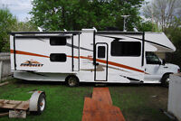 2008 32' Gulf Stream Conquest LE Class C motorhome with Bunks!