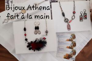 Bijoux Athena, créations fait à la main