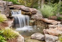 Water falls, Ponds & water features