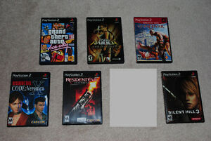Playstation 2 PS2 Games, Silent Hill 3, Resident Evil God of War