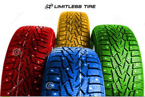 WINTER TIRE BLOW OUT ONLY @ LIMITLESS TIRE GET READY FOR WINTER