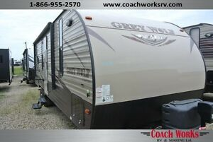 2016 Grey Wolf 24RK Travel Trailer