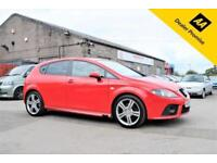 2008 SEAT LEON FR 2.0 TDI RED HATCHBACK MANUAL 170 BHP DIESEL