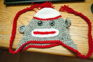 Sock Monkey Toque