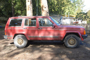 1989 Jeep Cherokee Limited Edition