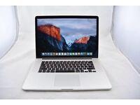 "Retina MacBook Pro 15"" 3.3GHz i7 Quad Core, Warranty, Adobe cs6, Logic, Final Cut, Office"
