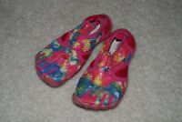water shoes for a girl size 10