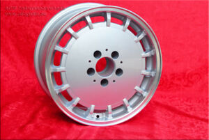 4 pcs. Mercedes Gullideckel wheels, 8x16, 5x112, ET11, flat Desi