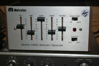 CLEAN Retro Metrotec 5 Band Compact Equilizer - TESTED RESTORED