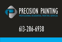 Precision Painting ( and renovations) 613-286-6938